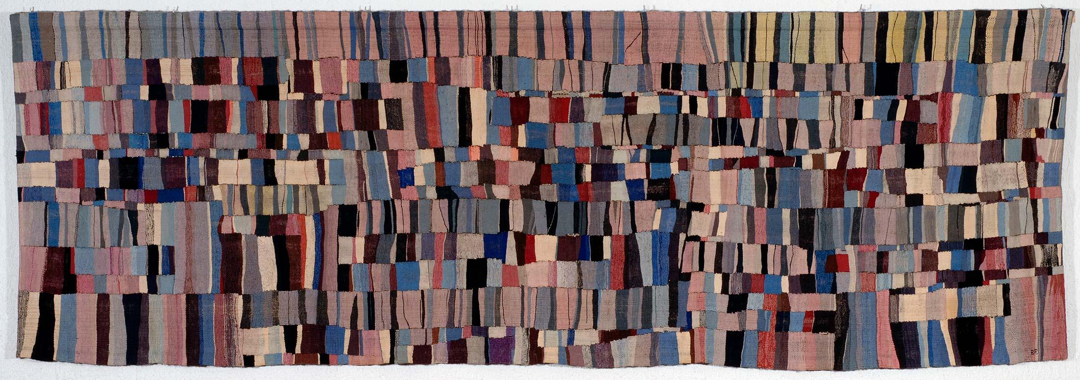 Brit Fuglevaag sitt verk Panorama fra 1971, Tilhører UIO. Foto: Arthur Sand